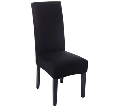 Faux Suede Dining Chair